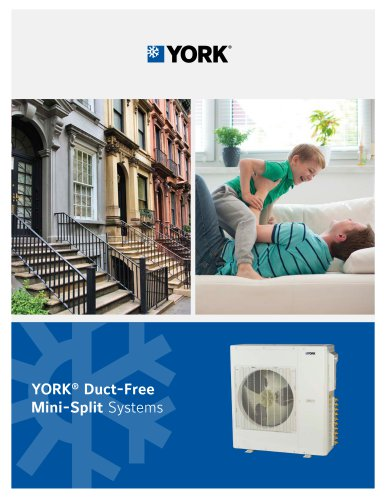 YORK® Duct-Free Mini-Split Systems