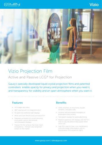 Vizio Projection