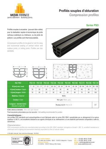 Compression profil - Series PSO
