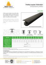 Compression profile - Series PSR - 1