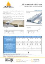 Seismic floor expansion joint - JDH 6.29 - 1