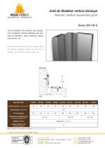 Seismic vertical expansion joint - JDV 4.02 - 1