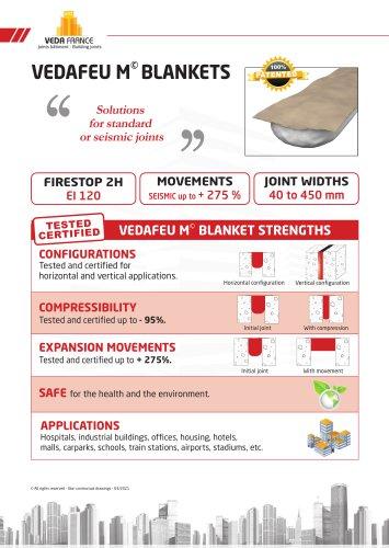 Vedafeu P firestop filler board