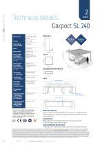 Carport & Carport+Box Agava SL - 12