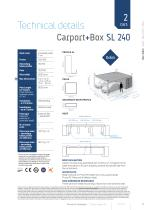 Carport & Carport+Box Agava SL - 13