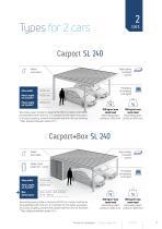 Carport & Carport+Box Agava SL - 5
