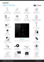 Zipato security and control system flyer catalogue
