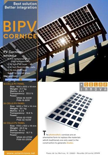 BIPV-Solar Photovoltaic Cornices