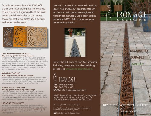 Iron Age & NDS Brochure