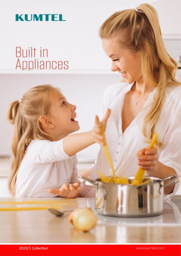 Kumtel Built-in Appliances 2019 Collection