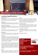 4EA Aluminium Roller Shutters - 1
