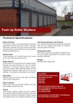 Push Up Roller Shutters - 1