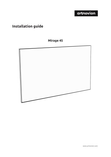 Installation guide Mirage 45