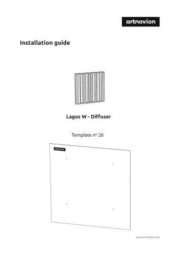 Lagos W - Diffuser Installation guide