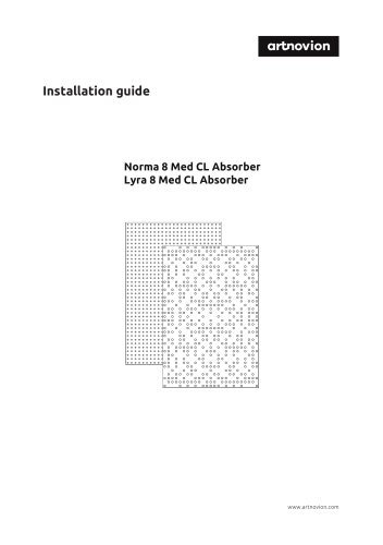 Lyra 8 Med CL Absorber Installation guide