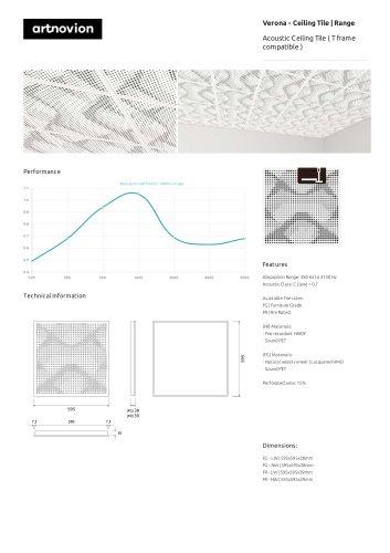 Verona - Ceiling Tile