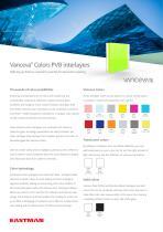 Vanceva Colors Product Bulletin