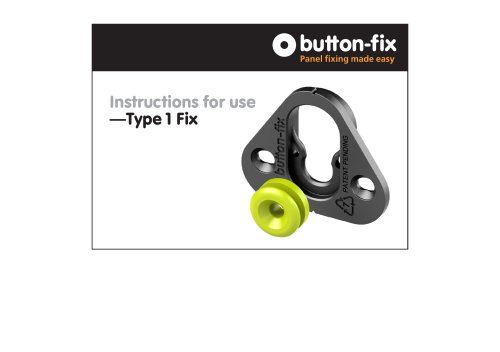 Instructions for use for Button-fix Type 1