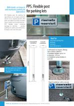 PPS. Flexible post for parking lots - 1