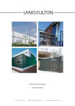 Steel Fencing Systems - Grating Fences