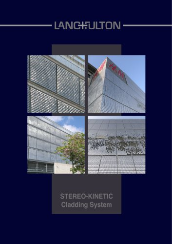 Stereo-kinetic Wall Cladding