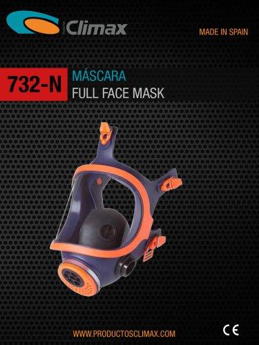 732-N FULL FACE MASK