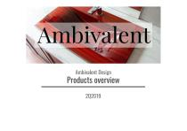 Ambivalent Design - products