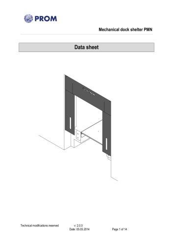 Mechanical dock shelter PMN