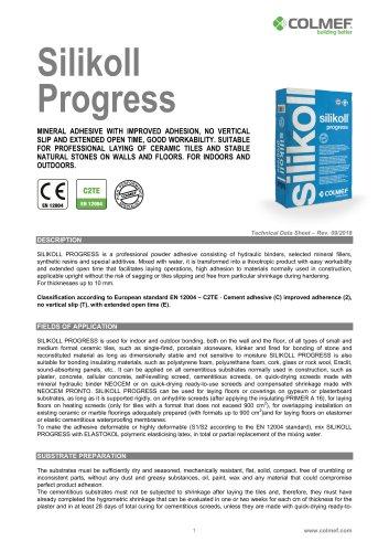 Silikoll Progress