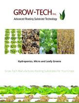 Hydroponics, Micro and Leafy Greens