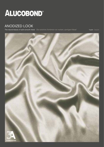 ALUCOBOND®  anodized look