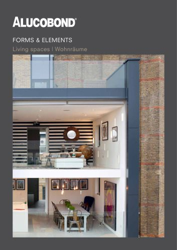 ALUCOBOND® Forms & Elements Living spaces