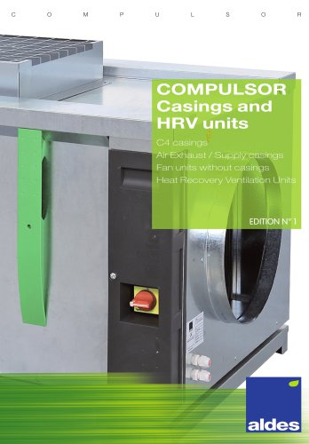 COMPULSOR Casings and HRV units