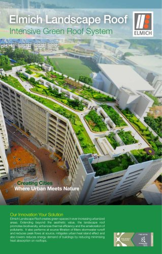 Elmich Landscape Roof Intensive Green Roof System