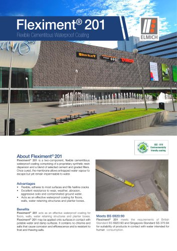 Fleximent® 202 Cementitious Waterproof Coating