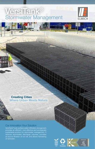 VersiTank® Stormwater Management