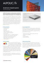 Datasheet: ALPOLIC™/fr