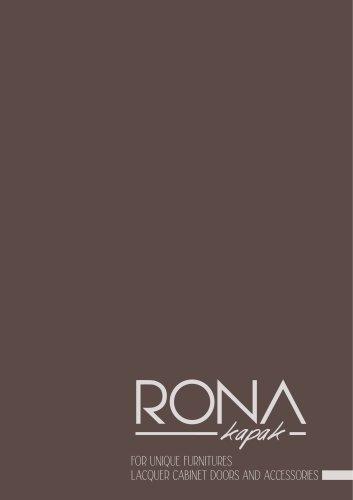 Cabinet doors - Rona Kapak - a brand by Tugra