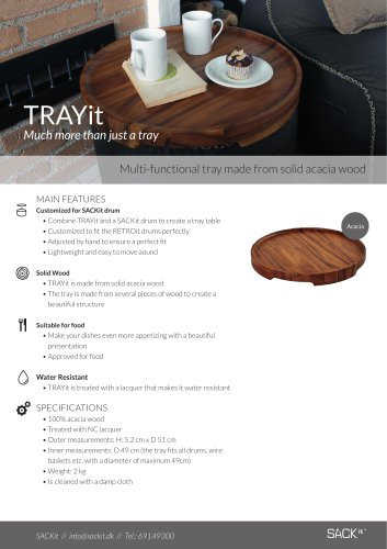 TRAYit Much more than just a tray