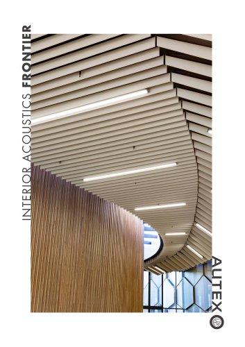 Interior Acoustics Frontier Autex Acoustics Pdf Catalogs Documentation Brochures