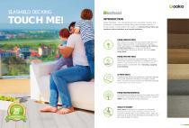 Oakio Elashield decking brochure - 1