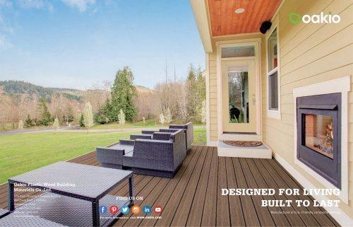 Oakio WPC decking brochure