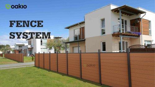Oakio wpc fence brochure