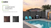 Oakio wpc fence brochure - 2