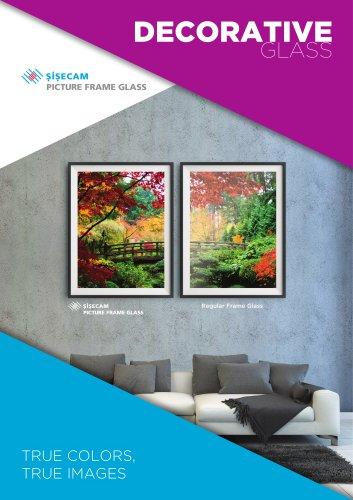 Şişecam Picture Frame Glass
