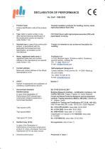 Declaration of performance PIR Board paper