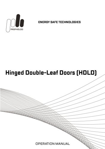Manual Hinged Double-Leaf Doors (HDLD)