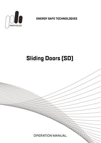Manual Sliding Doors (SD)