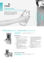 Contactless Bottle Fillers + Drinking Fountains Flyer - 1