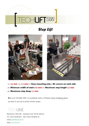 Techlift500 Step Lift